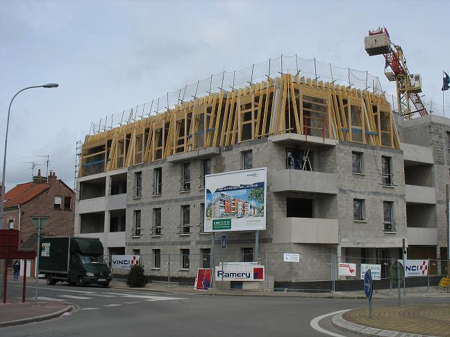 construction b timents immeubles maisons mur anti bruit