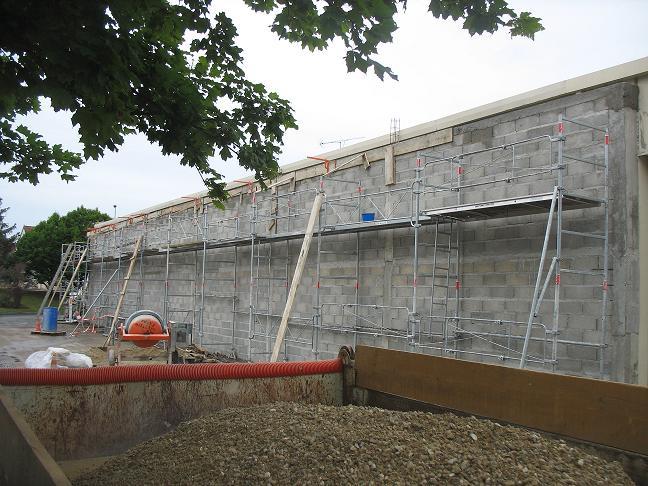 Construction Bâtiments, Immeubles, Maisons, Mur Anti Bruit
